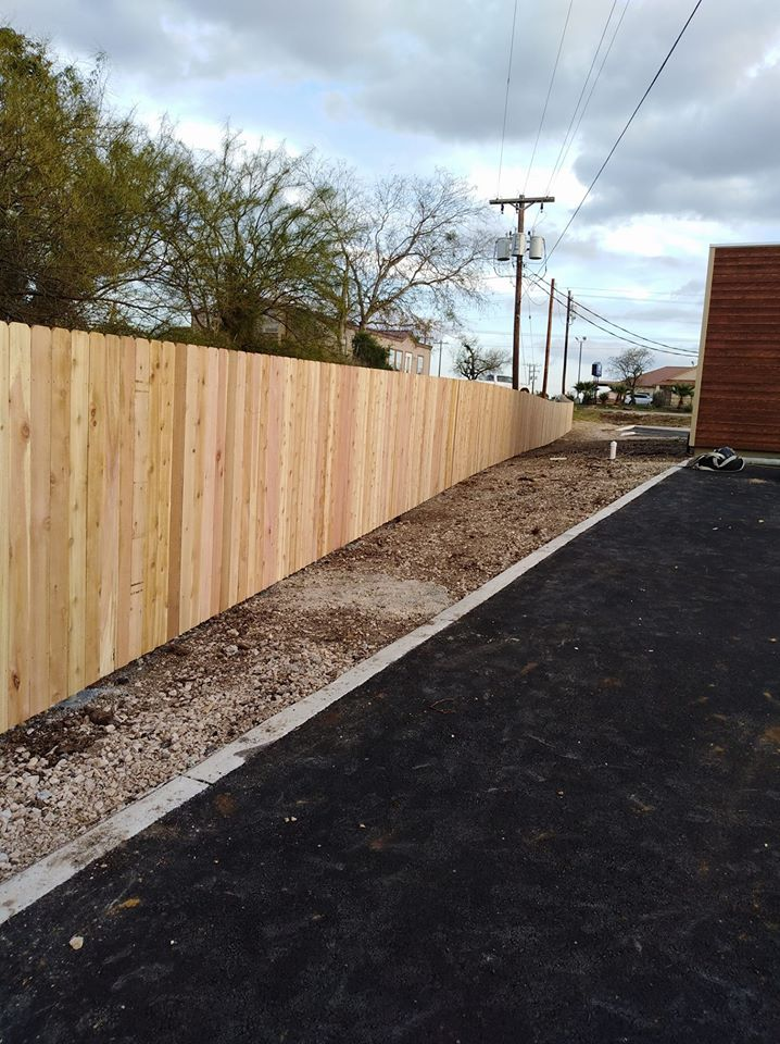 fence made by wood